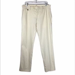 Polo by Ralph Lauren Wool Blend Pinstripe pants 34